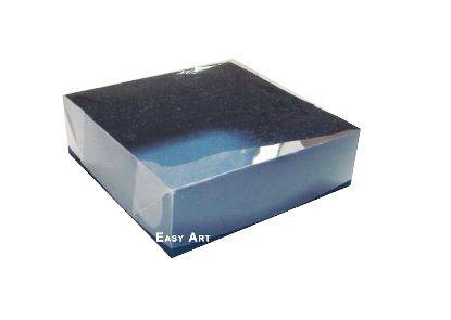 Caixas para 4 Brigadeiros - Azul Marinho