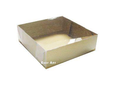 Caixas para 4 Brigadeiros - Dourado