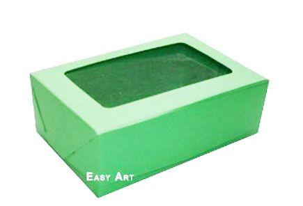 Caixas para 3 Brigadeiros - Verde Pistache