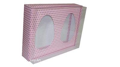 Caixas Ovos de Colher - Rosa Poás Marrom