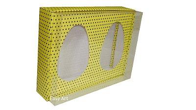 Caixas Ovos de Colher - Amarelo Poás Marrom