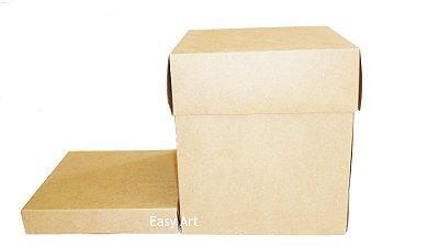 Caixa para Panetones com Berço - Kraft