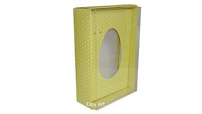Caixas Ovos de Colher - 350g Amarelo Poás Brancas