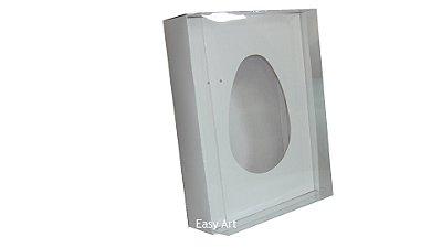 Caixas Ovos de Colher - 1 K -Branco