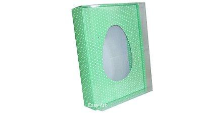 Caixas Ovos de Colher - 1 K Verde Poás Brancas