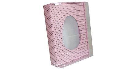 Caixas Ovos de Colher - 1 K - Rosa Poás Marrom