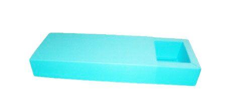 Caixa para 10 Brigadeiros - Azul Tiffany