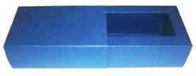 Caixas para 2 Brigadeiros - Azul Marinho