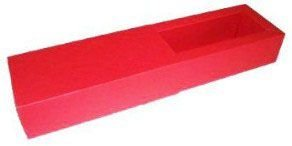 Caixas para 3 Brigadeiros - Vermelho