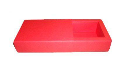 Caixas para 6 Brigadeiros  - 16,5x11,5x4,5 / Vermelho
