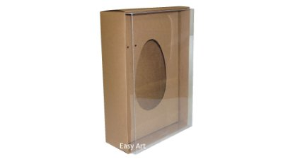 Caixas Ovos de Colher - 500g - Marrom Claro