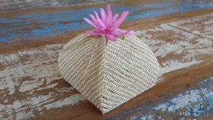 Mini Flores para Bem Casados / Tecido - Viuvinha