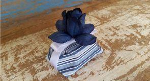 Mini Flores para Bem Casados / Tecido - Bálsamo