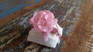 Mini Flores para Bem Casados / Tecido - Mini Peônia