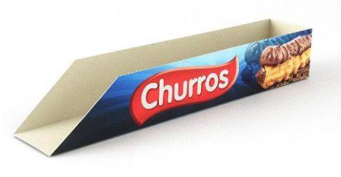 200 Caixas De Churros Mod. Premium
