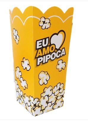 Embalagem para Pipoca Média - 100 unidades