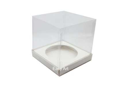 Caixa para Mini Panetones - Branco
