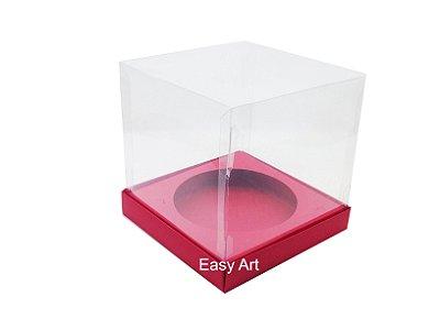 Caixa para Mini Panetones - Vermelho
