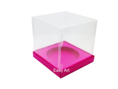 Caixa para Mini Panetones - Pink