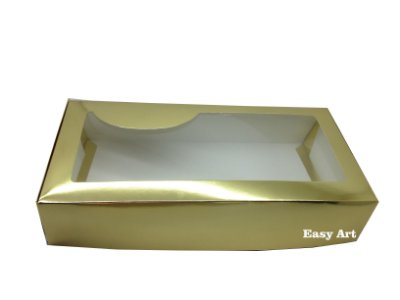 Caixas para Lingerie - Dourada - 35x17x7