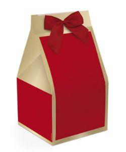 Caixa Trapézio para Panetone 500g / Modelo Natal Chic