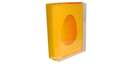 Caixas Ovos de Colher - 1K - Laranja Claro