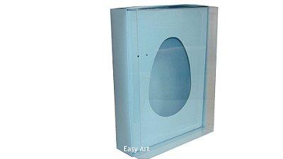 Caixas Ovos de Colher - 1K - Azul Claro