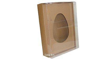 Caixas Ovos de Colher - 1K - Marrom Claro