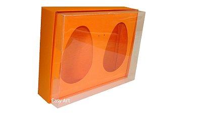 Caixas 2 Ovos de Colher de 500g Cada - Laranja