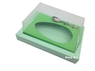 Caixa para Ovos de Colher 250g Verde Claro / Verde Pistache