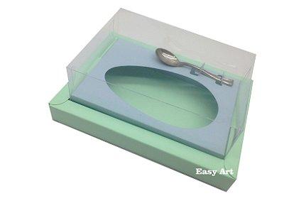 Caixa para Ovos de Colher 500g Verde Claro / Azul Claro