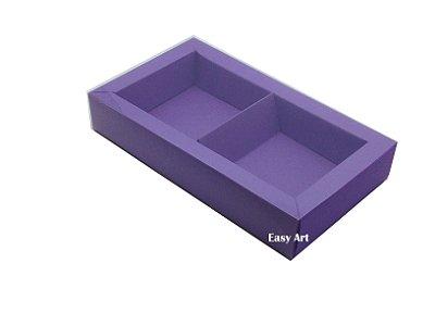 Caixa para 02 ou 03 Sabonetes / Lilás