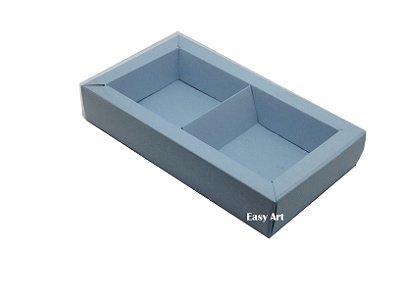 Caixa para 02 ou 03 Sabonetes / Azul Claro