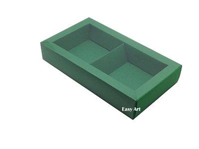 Caixa para 02 ou 03 Sabonetes / Verde Bandeira