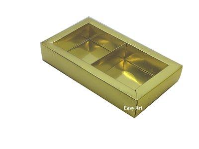 Caixa para 02 ou 03 Sabonetes / Dourado