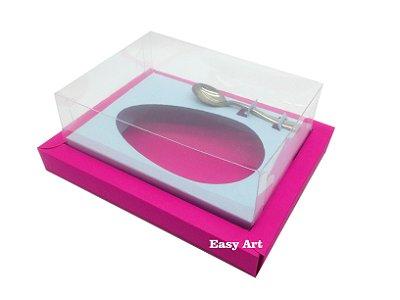 Caixa para Ovos de Colher 350g Pink / Azul Claro