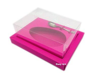 Caixa para Ovos de Colher 350g Pink - Linha Colors