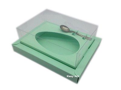 Caixa para Ovos de Colher 350g Verde Claro - Linha Colors