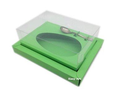 Caixa para Ovos de Colher 350g Verde Pistache - Linha Colors