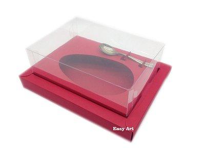 Caixa para Ovos de Colher 350g Vermelha - Linha Colors