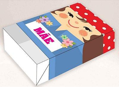 Caixa Mãe Hippie -  06 Brigadeiros - 12x8x3,5