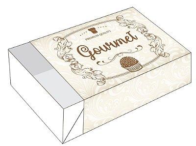 Caixa Premium Quality Gourmet /  06 Brigadeiros - 12x8x3,5