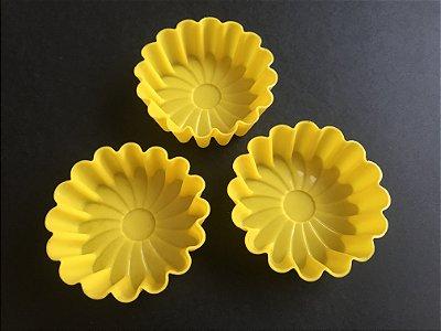 Forminhas de Silicone - Modelo Margarida / Pct 03 Un.