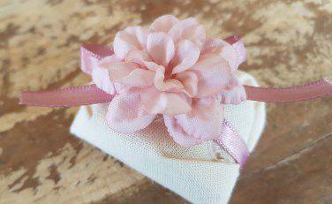 Mini Flores para Bem Casados / Tecido - Delicata