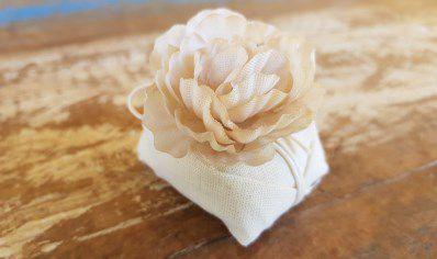 Mini Flores para Bem Casados / Tecido - Sempre Viva