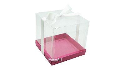 Caixinha para Mini Bolos - Pink
