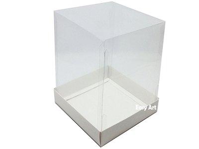 Caixa para Mini Bolo - Branco