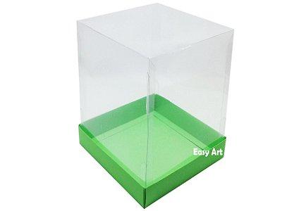 Caixa para Mini Bolo - Verde Pistache