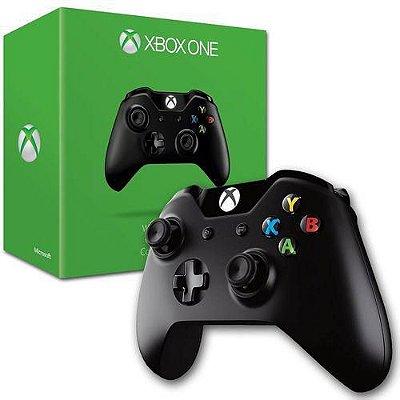 Controle Sem Fio Preto Xbox One