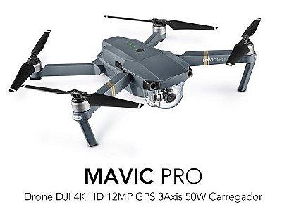 Drone Dji Mavic Pro Cinza Homologado Pela Anatel